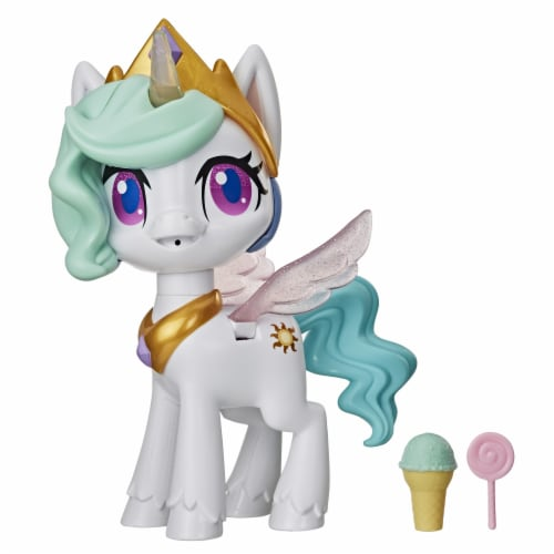 My Little Pony Magical Kiss Unicorn Princess Celestia Doll Perspective: front
