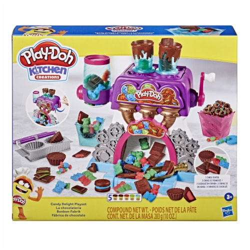 Play-Doh Kitchen Creations Candy Delight Playset Perspective: front