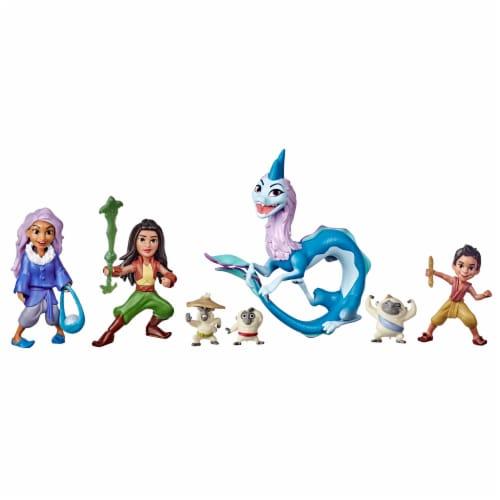 Disney's Raya and the Last Dragon Kumandra Story Set Perspective: front