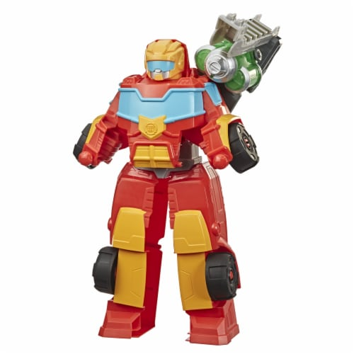 Playskool Heroes Transformers Rescue Bots Academy Hot Shot Action Figure Perspective: front