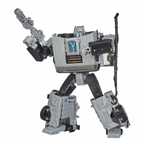 Hasbro Transformers Collaborative Back to the Future Gigawatt Figure Perspective: front