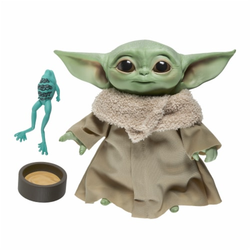 Hasbro Star Wars The Child Talking Plush Toy Perspective: front