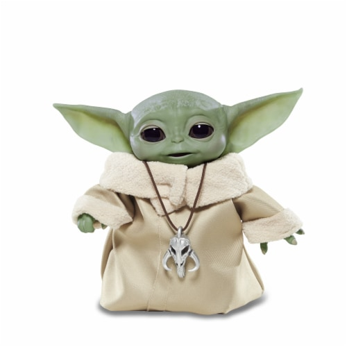 Hasbro Star Wars The Mandalorian The Child Animatronic Figure Perspective: front
