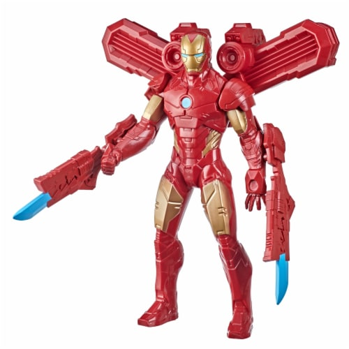 Hasbro Marvel Iron Man Action Figure and Gear Perspective: front