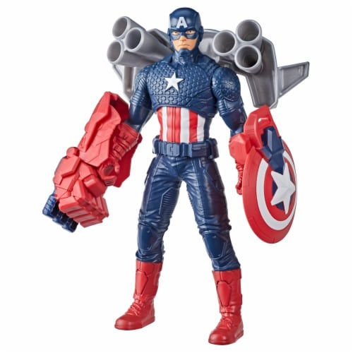 Hasbro Marvel Captain America Action Figure and Gear Perspective: front