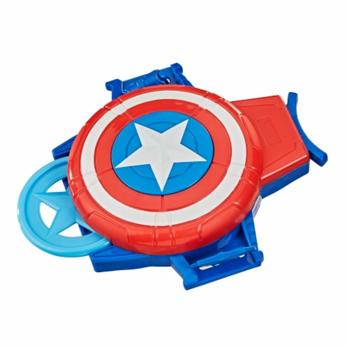 Hasbro Marvel Captain America Super Hero Role-Play Toy Perspective: front