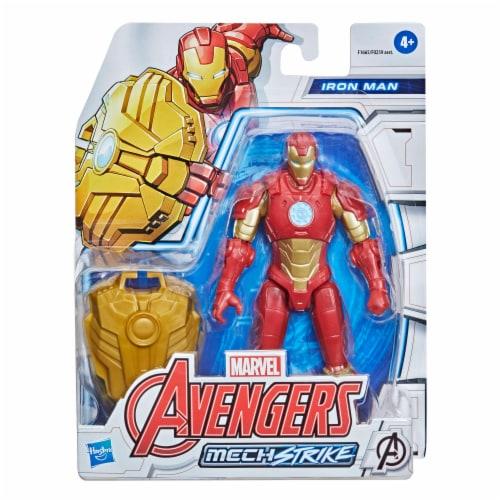 Hasbro Marvel Avengers Mech Strike Iron Man Figure Perspective: front