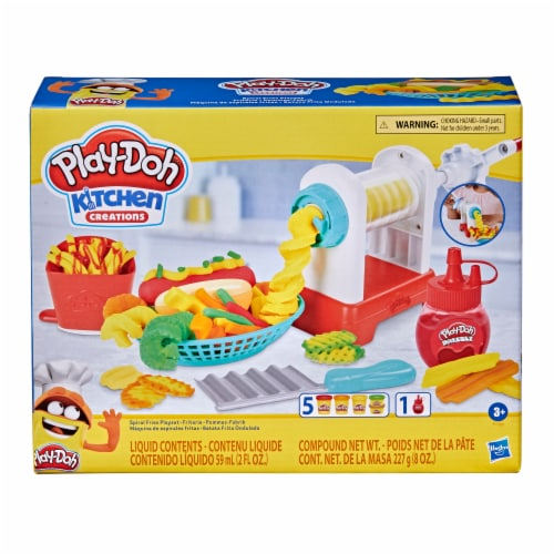Play-Doh Kitchen Creations Spiral Fries Playset Perspective: front