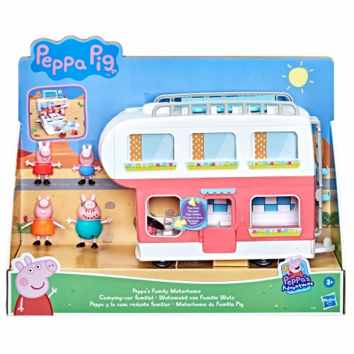 Peppa's Family Motorhome Playset Perspective: front