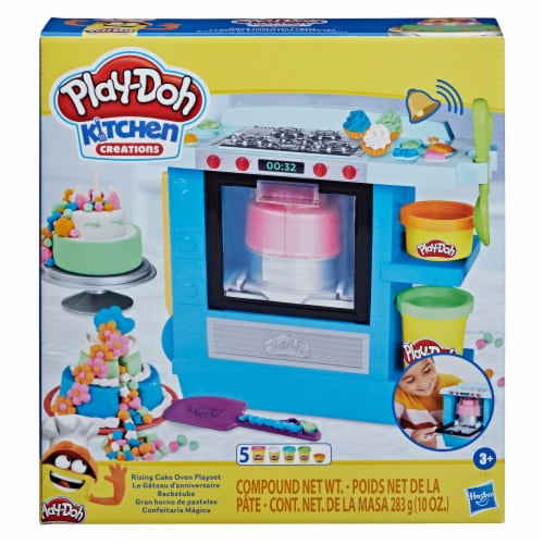 Play-Doh Kitchen Creations Rising Cake Oven Playset Perspective: front