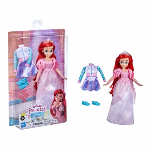 Hasbro Disney Princess Comfy to Classic Doll - Ariel Perspective: front
