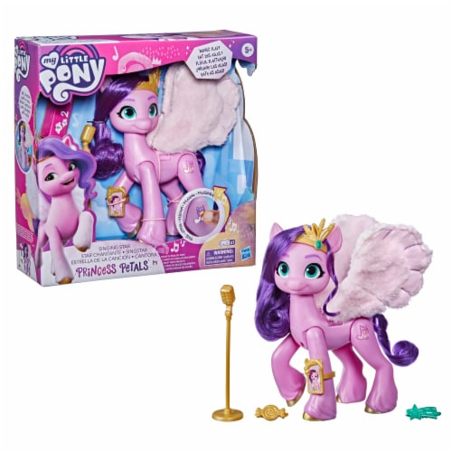 Hasbro My Little Pony: A New Generation Singing Star Princess Petals Pony Toy Perspective: front