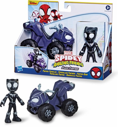 Hasbro Marvel Spidey and His Amazing Friends Miles Morales Techno-Racer Perspective: front
