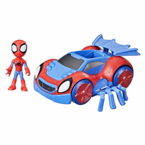 Hasbro Disney Junior Marvel Spidey and His Amazing Friends Web-Crawler And Spidey Perspective: front