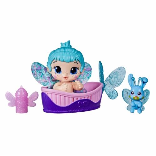 Hasbro Baby Alive Aqua Flutter GloPixies Doll Perspective: front