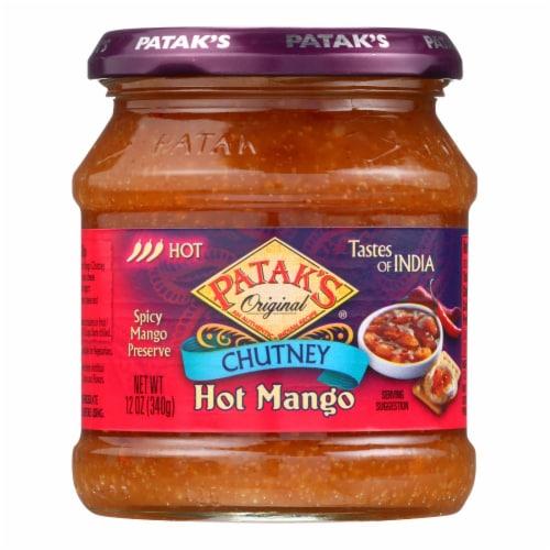 Patak's® Hot Mango Chutney Perspective: front