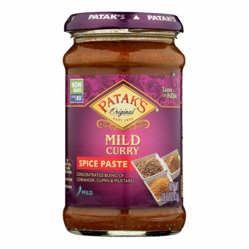 Patak's® Mild Curry Indian Spice Paste Perspective: front