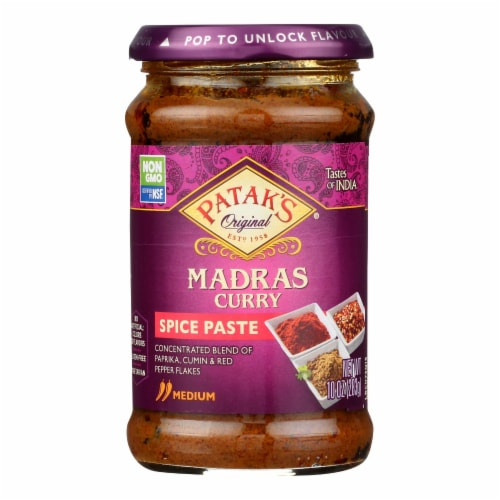 Pataks® Madras Curry Medium Spice Paste Perspective: front