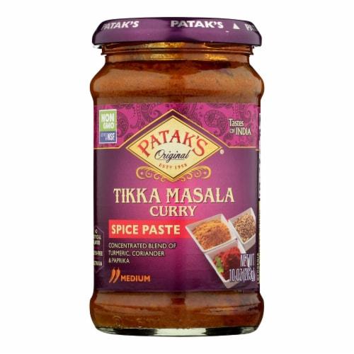 Pataks® Tikka Masala Curry Medium Spice Paste Perspective: front