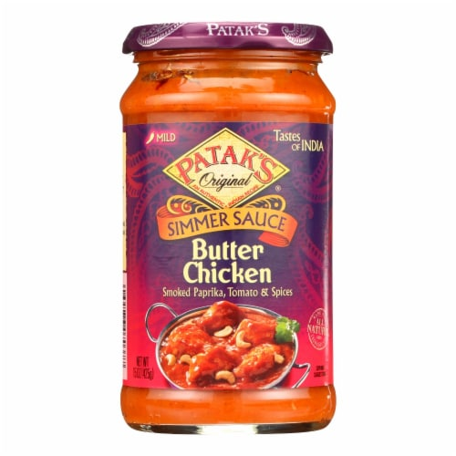 Patak's® Butter Chicken Simmer Sauce Perspective: front