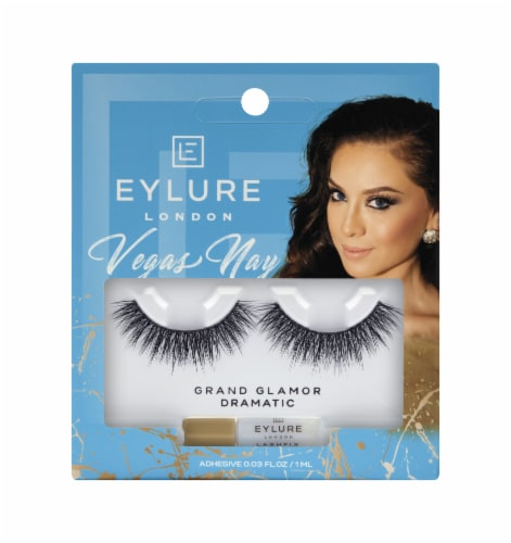 Eylure Grand Glamour Vegas Nay Lashes Perspective: front