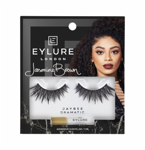 Eylure Jasmine Brown Jaybee Dramatic Lashes Perspective: front