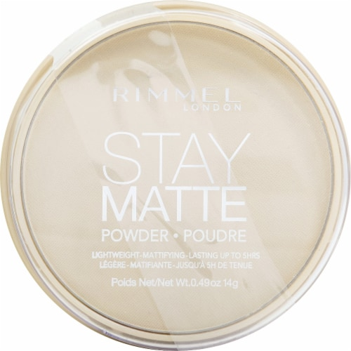 Rimmel Stay Matte Pressed Powder Perspective: front