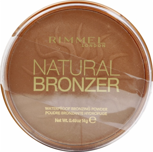 Rimmel Natural Bronzer Pressed Powder Perspective: front