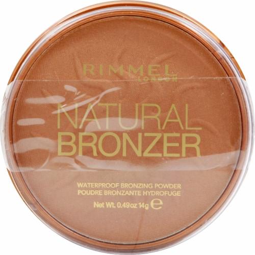 Rimmel Natural Bronzer Pressed Bronzing Powder Perspective: front