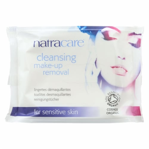 Natracare Make-Up Removal Wipes - Cleansing - 20 Count Perspective: front