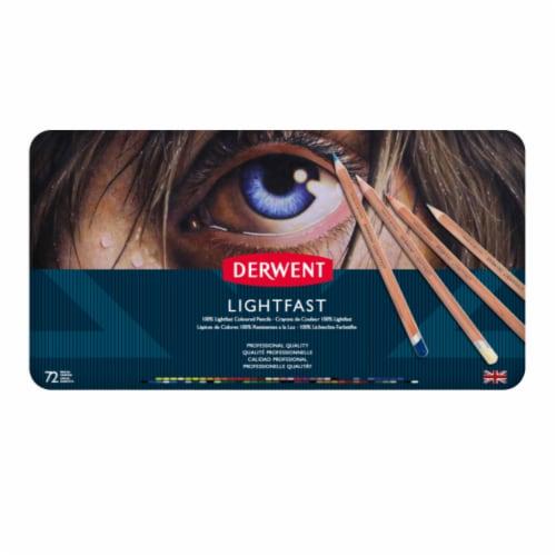 Derwent Lightfast 72-Color Pencil Set Perspective: front