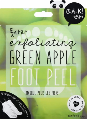 Oh K! Peeling Foot Mask Perspective: front
