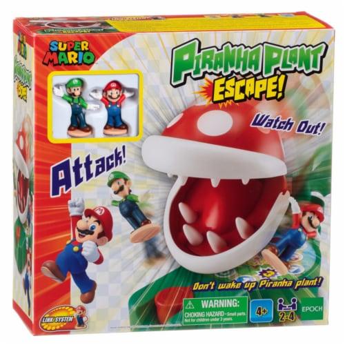 Epoch Super Mario Piranha Plant Escape Game Perspective: front