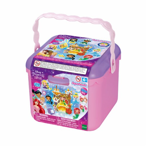 Aquabeads Disney Princess Creation Cube Bead Kit Perspective: front