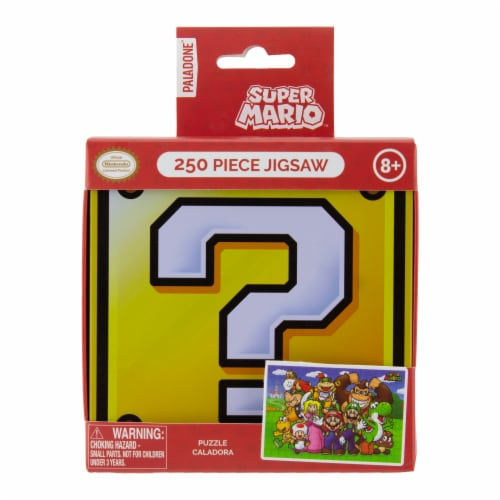 Paladone Super Mario Jigsaw Puzzle Perspective: front