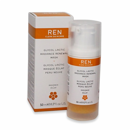 REN Glycol Lactic Radiance Renewal Mask Perspective: front