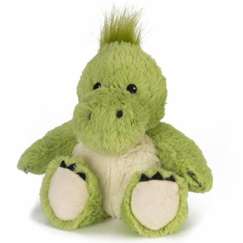 Warmies Dinosaur Stuffed Animal Perspective: front