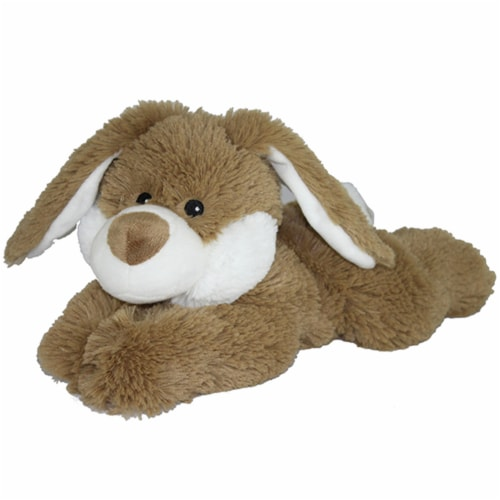 Warmies Bunny Plush - Brown Perspective: front