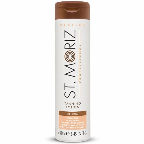 St. Moriz Professional Medium Tanning Lotion Perspective: front