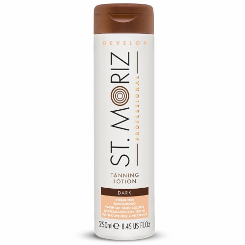 St. Moriz Professional Dark Tanning Lotion Perspective: front