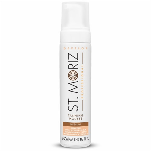 St. Moriz  Professional Self Tanning Mousse Medium Perspective: front