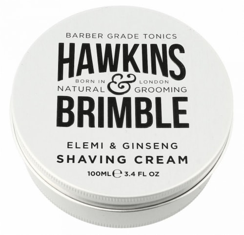 Hawkins & Brimble Elemi & Ginseng Shaving Cream Perspective: front
