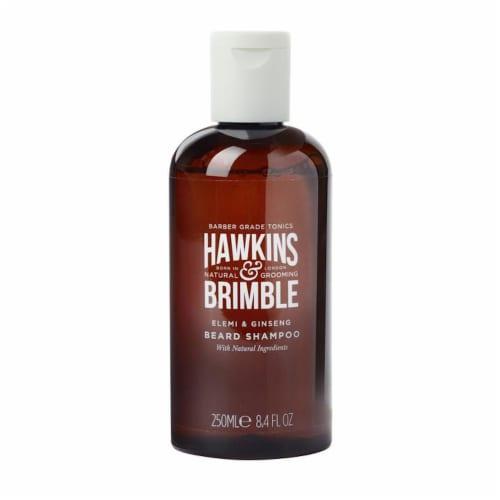 Hawkins & Brimble Elemi & Ginseng Beard Shampoo Perspective: front