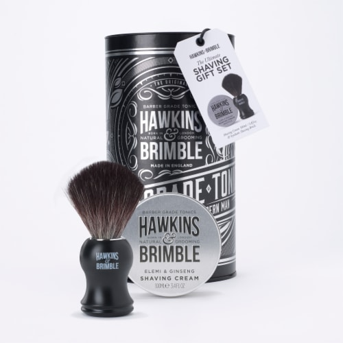 Hawkins & Brimble Shaving Gift Set Perspective: front