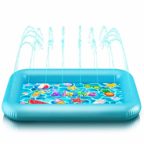 Princessea Splash Pool for Boys Perspective: front