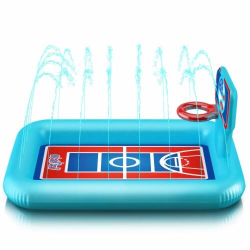 Princessea Basket Ball Splash Pool Perspective: front