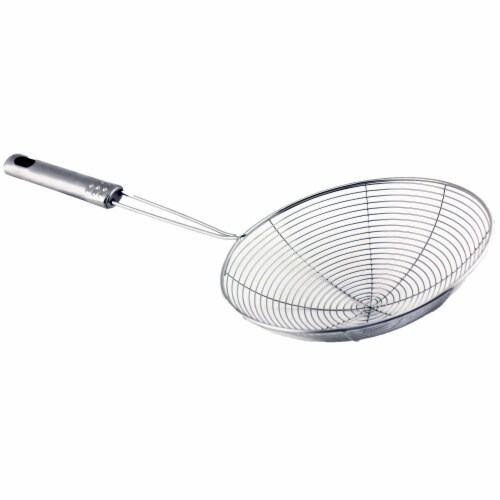 BergHOFF Studio Stainless Steel Wire Skimmer Perspective: front
