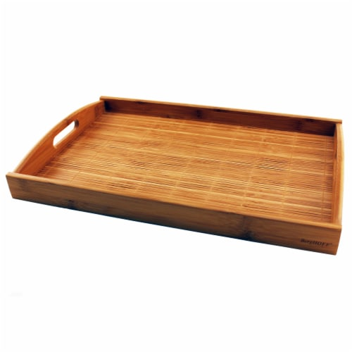 BergHOFF Large Bamboo Tray Perspective: front