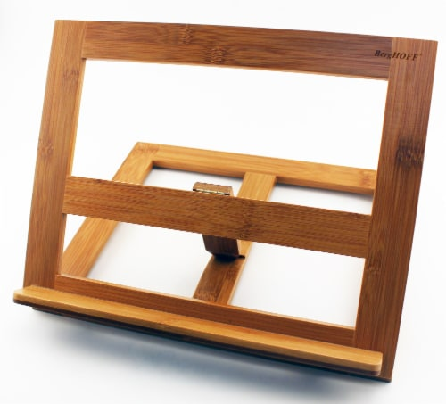BergHOFF Bamboo Cookbook/Tablet Holder Perspective: front