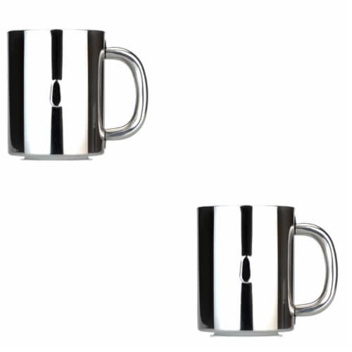 BergHOFF Stainless Steel Coffee Mug Set Perspective: front